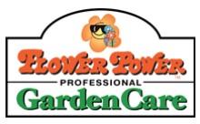 Flower Power Professional Garden Care Logo