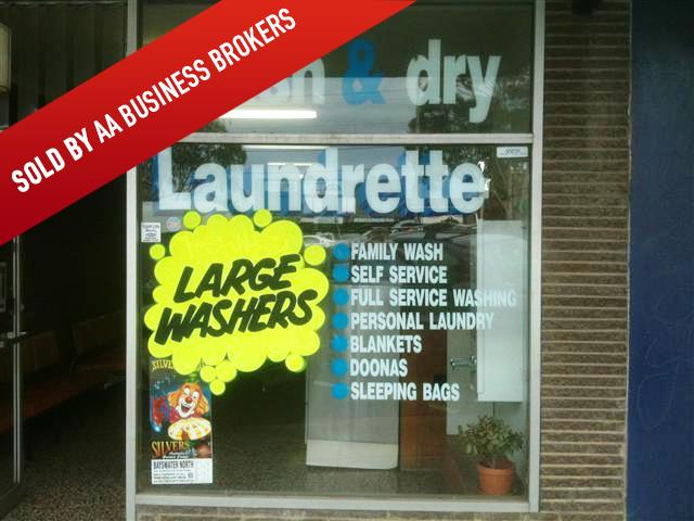 Sold! Laundrette - Coin Laundry (full self service) Heathmont Melbourne PH1613
