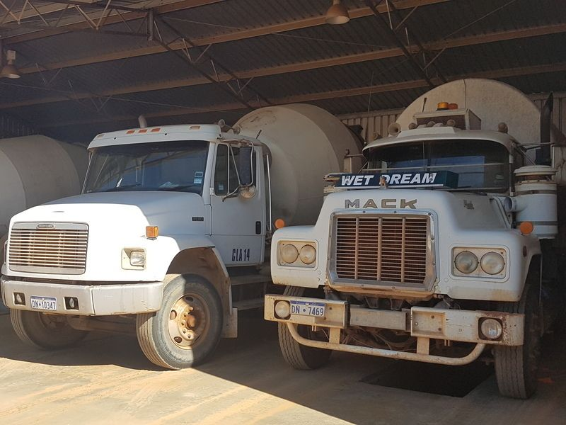 CONCRETE SUPPLY & INSTALLATION YARD