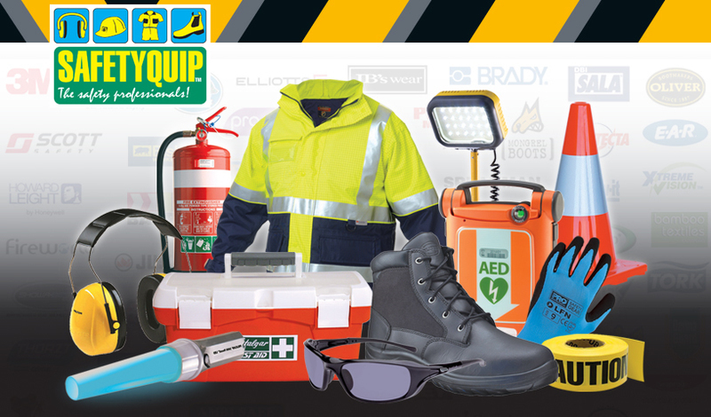 SAFETYQUIP PERTH - MAKE SAFETY YOUR BUSINESS - Workplace Health & Safety Product