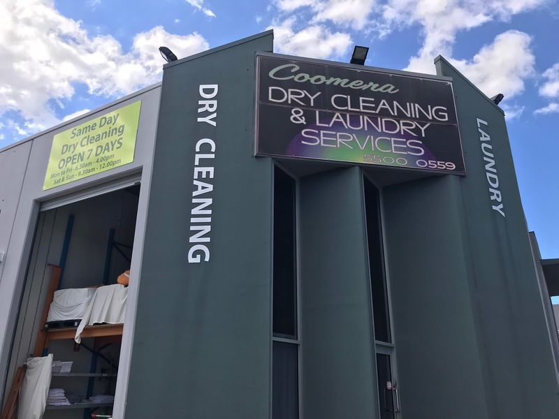 Perfectly Located Gold Coast Laundry and Dry Cleaning business with a massive 7