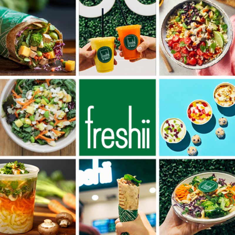 Freshii  Casual & Healthy Eating from Canada!