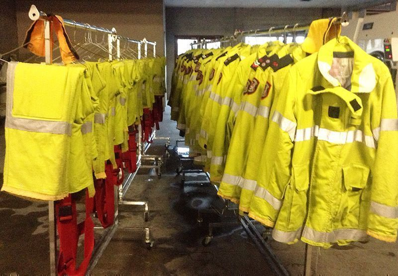 Protective Clothing and Equipment Decontamination & Repair.