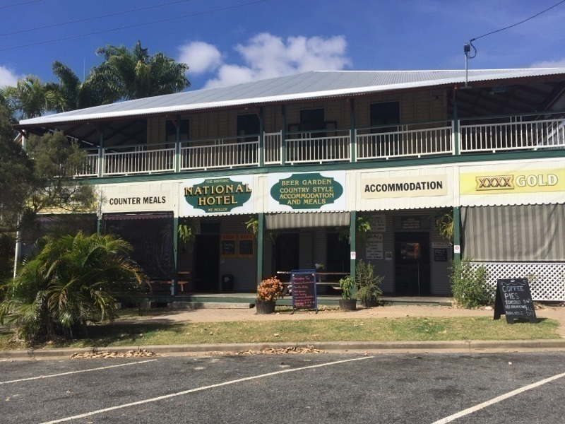 Mt Molloy National Hotel, Freehold, Pub & Restaurant