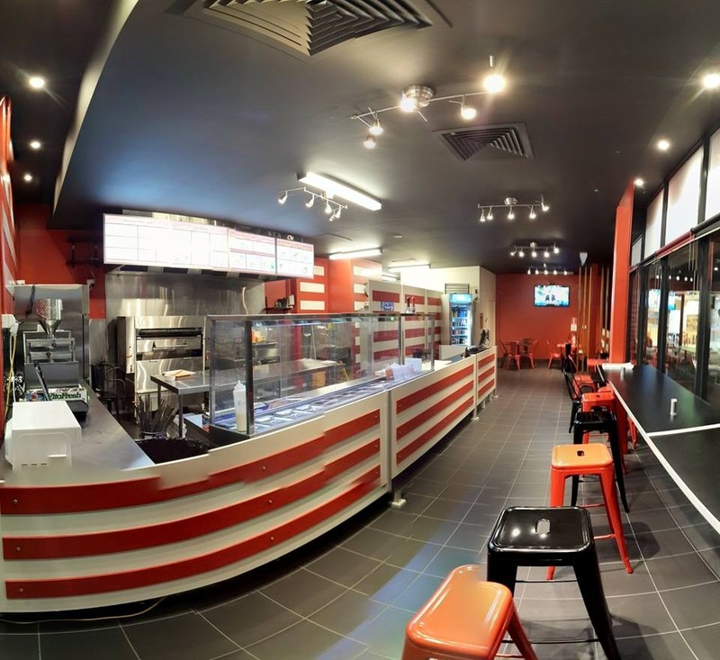 MODERN KEBAB & BBQ TAKEAWAY SHOP, IN A FOOD ZONE, HIGH VISIBILITY, RENT $575 P/W