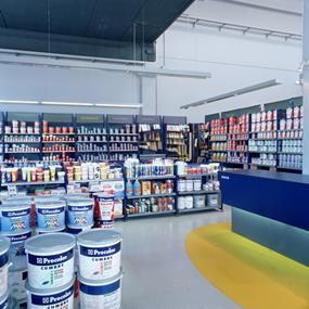 Wholesale and retail paint store in South East - Ref:12500