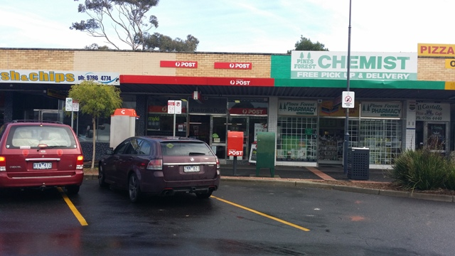 Frankston Area - Pines Forest Licensed Post Office (DB1414)