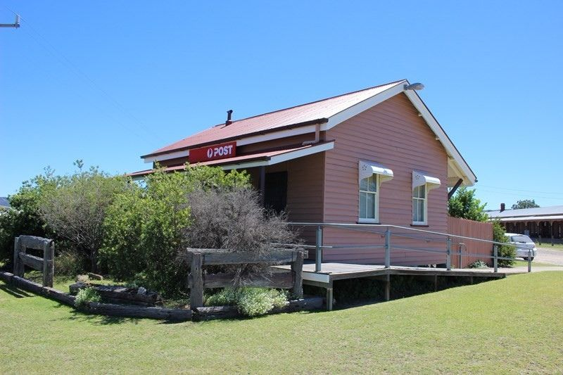 Wallangarra QLD Post Office (DB1829)