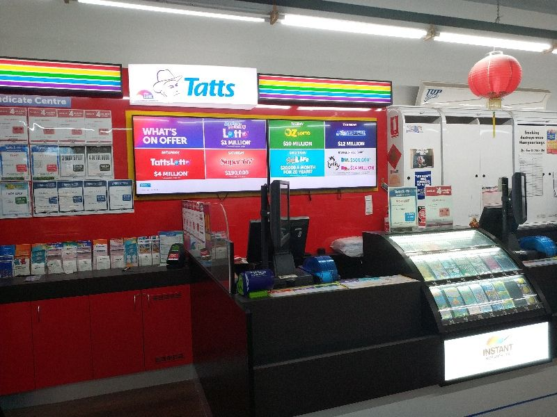 Tattslotto - Tatts - Jackson Court News & Lotto (RDT367)