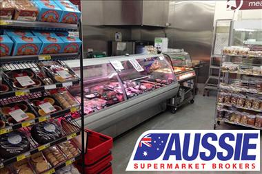 Supermarket in Good Location and with $65K Weekly T/O