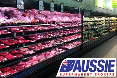 Bannered Supermarket Close To Cairns