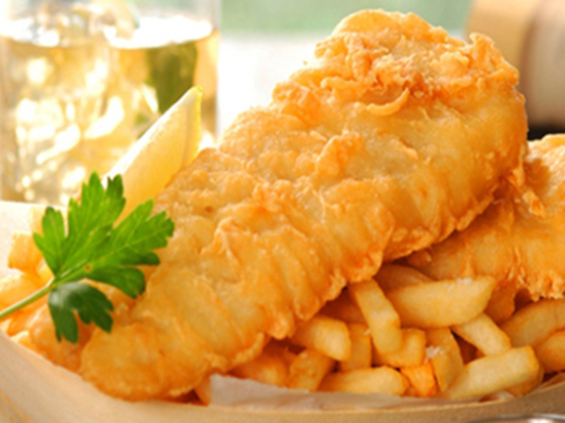 Fish & Chips / Pizza  (Ref 5650)