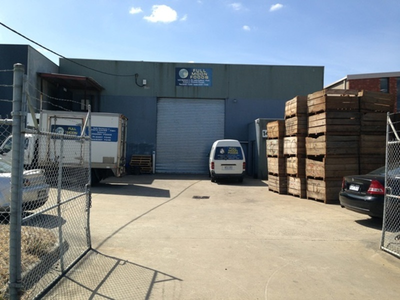 Full Moon Foods Manufacturing Facility 'Freehold Sale' Call Nick 0434 318 460 (R