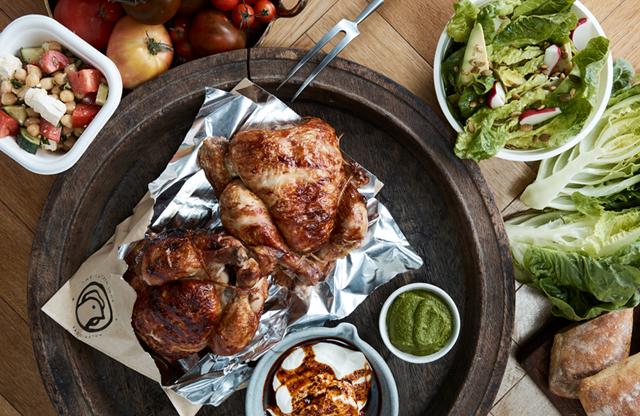 (4373) Chickens, Salads & Burgers