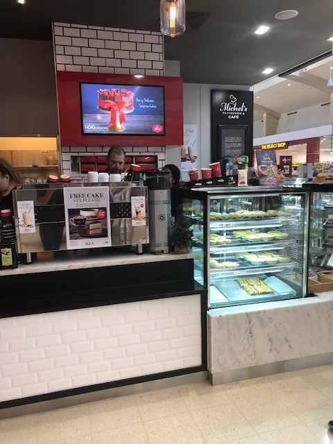 Love quality cafe coffee? Join the Michels Patisserie franchise family: Marion!