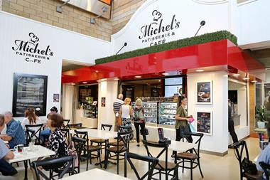 Michels Patisserie bakery & café franchise for sale in Parabanks Shopping Centre