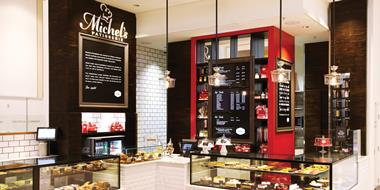 Delicious coffee & food franchise - Michels Patisserie bakery & cafe restaurant!