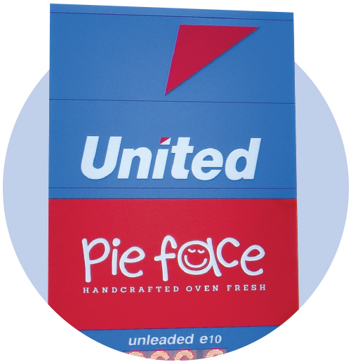 UNITED PETROLEUM - PIE FACE SITE AVAILABLE IN MELBOURNE VICTORIA!!
