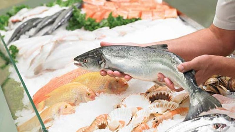 Fresh Fish - Popular Melbourne Market - 34396