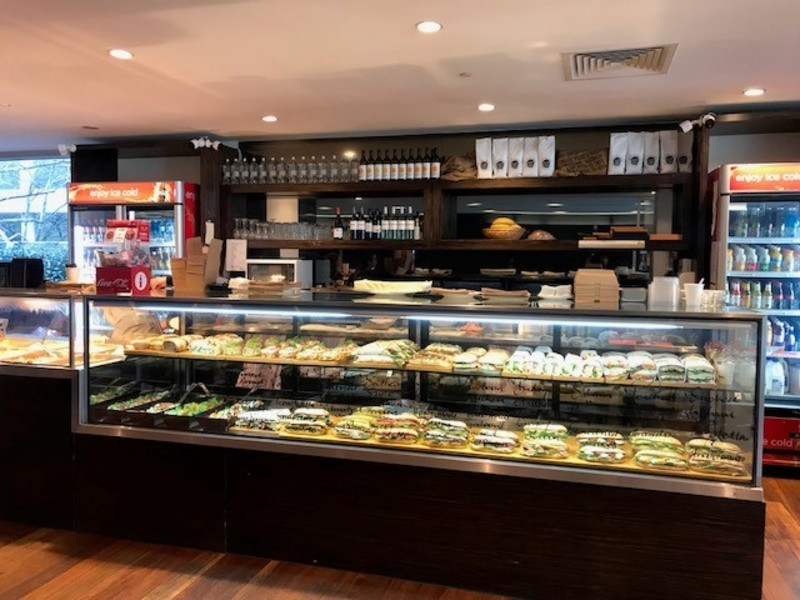 Blue Chip 5 Day Corporate Cafe taking $16,000 pw plus Catering (Our Ref V1362)