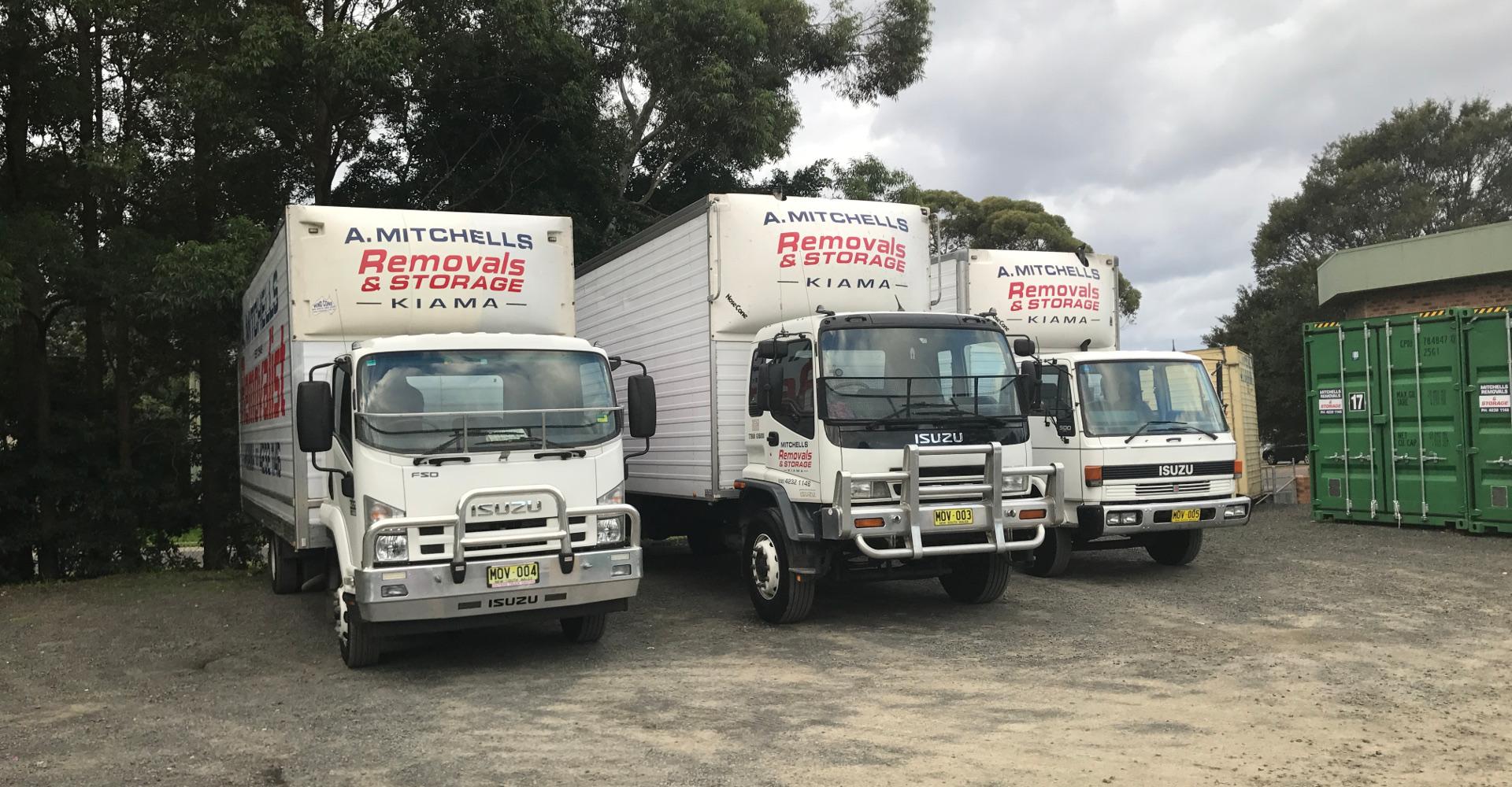 Mitchell's Removals & Storage.
