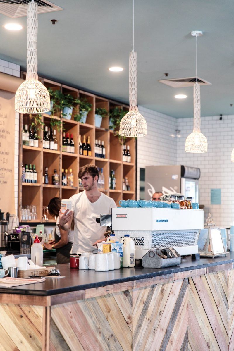 Popular, busy, trendy 5 day cafe in Canberra CBD