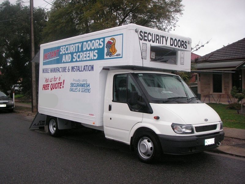 Instant Security Doors & Screens, Mobile Security Doors Manufacturing