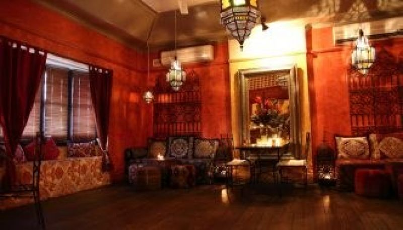 Gorgeous, Morrocon inspired Bar & Function lounge for sale.