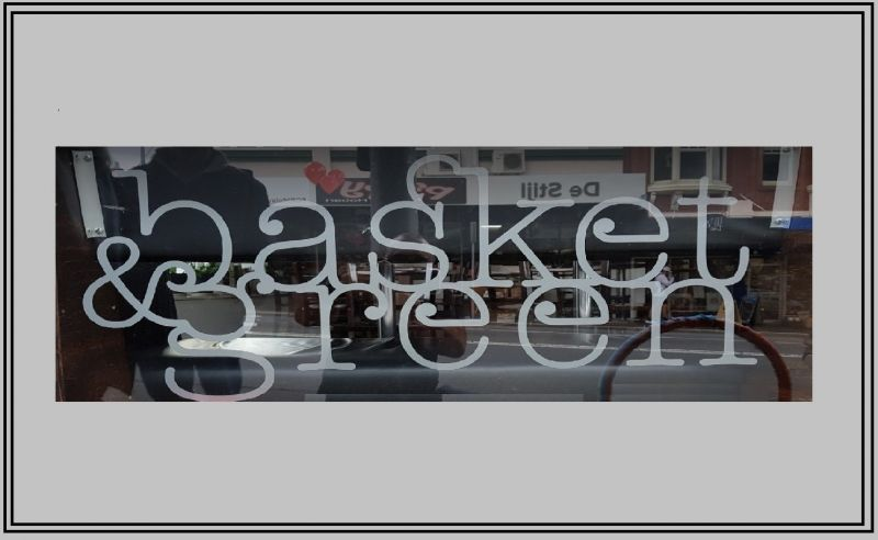 Basket and Green.  Popular Cafe in the heart of Hobart