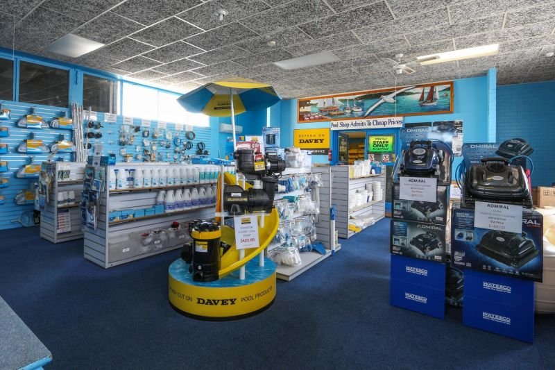 SELLING FREEHOLD (2 BUSINESSES) AND PREMISES - RETAIL POOL SUPPLY AND SERVICE