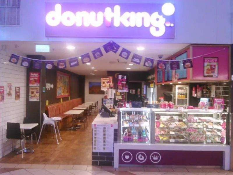 DONUT KING FRANCHISE. PRIME LOCATION IN VERY BUSY ERINDALE SHOPPING CENTRE
