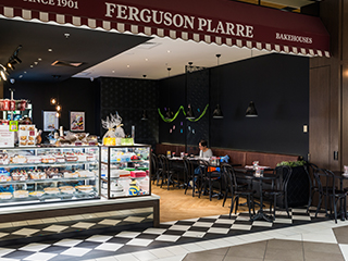 Ferguson Plarre Bakehouses Westfield Doncaster. A new Bakery Cafe opportunity.