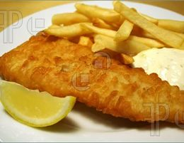 FISH & CHIPS, TAKING $8,500 PW, BRIGHTON AREA, PRICED AT $139,000, REF 6655