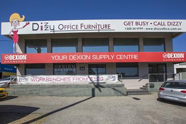 Dexion Canberra & Dizzy Office Furniture