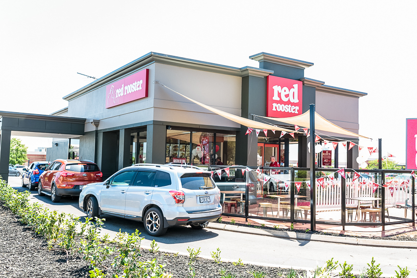 NEW Red Rooster restaurant opening at Warners Bay