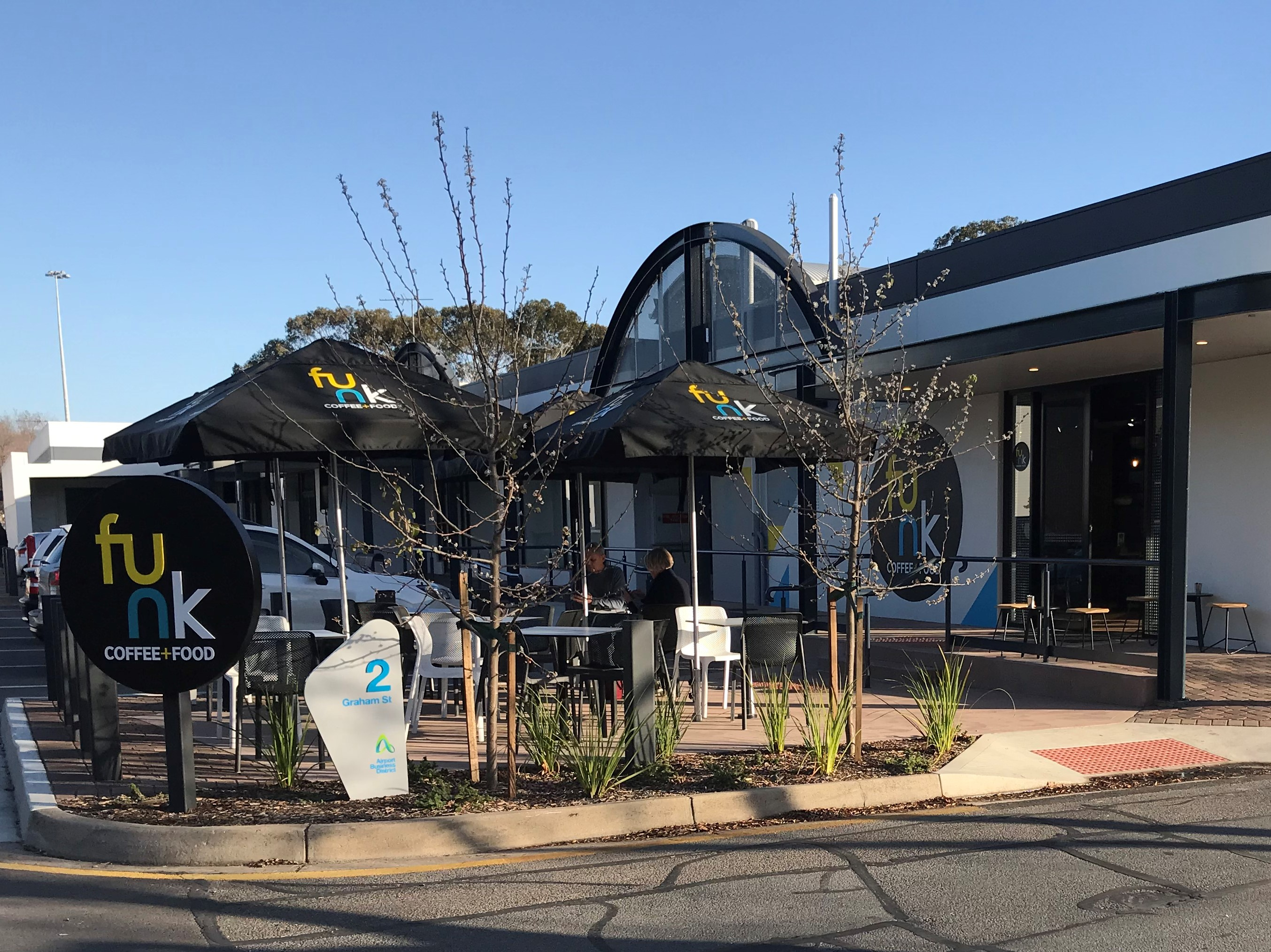 FUNK COFFEE + FOOD CAFE -  NEW -  EXPORT PARK (ADELAIDE AIRPORT PRECINCT)