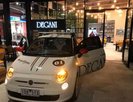 Give your finances a Caffeine boost - New Degani Cafes - Low cost. Big potential