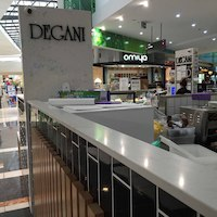 Degani kiosk cafe in busy Watergardens Shopping Centre only $165k & 7 year lease