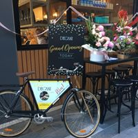 Torquay - Here it comes....New Degani cafe on Gilbert St corner position.