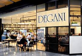 Degani - 70 cafes, only 5% royalty 2% marketing. Pick your cafe design & menu