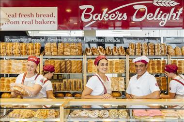Shopping Strip Bakery Franchise with Average Weekly Sales of $15,000