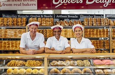 Coastal Bakery recently refurbed with an estimated sales of over $17k per week.