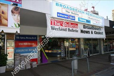 Newsagency - CENTRE OF THE GOLD COAST - ID#64810 - Great Price & Position !