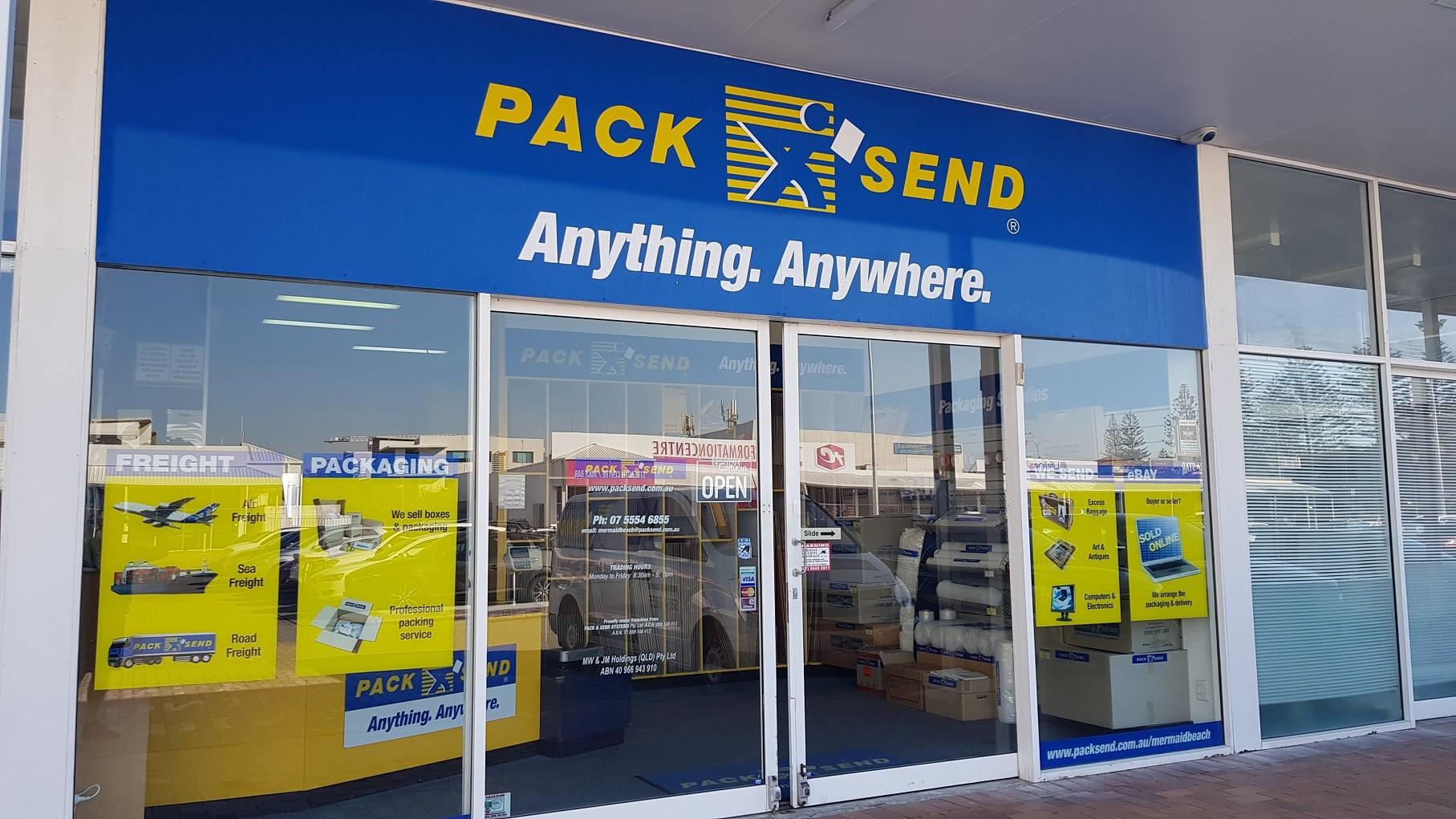 Courier, Freight, Shipping - PACK & SEND Mermaid Beach, QLD
