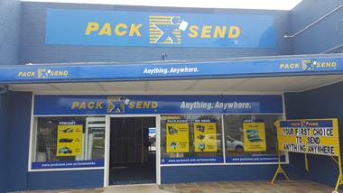 Courier, Freight, Shipping - PACK & SEND Toowoomba, QLD
