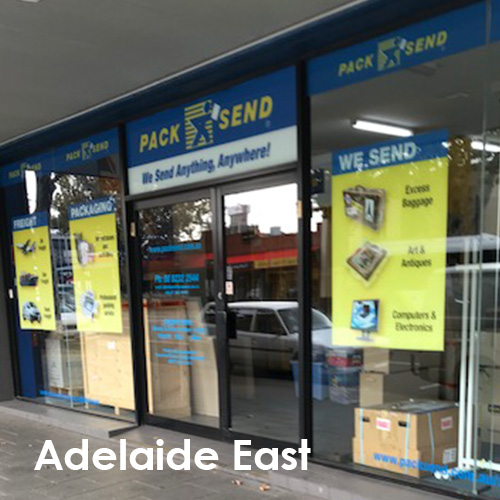 Courier, Freight, Shipping - PACK & SEND Adelaide East, SA
