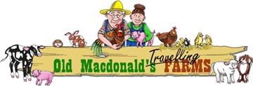 Old Macdonald's Travelling Farms Logo