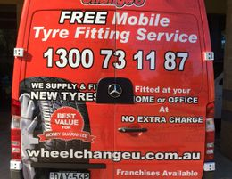 Be the first in Perth to own a Wheel Change U Mobile Tyre Franchise