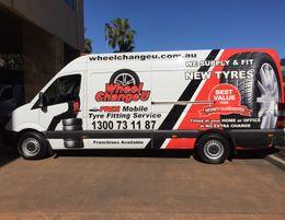 Looking to drive your own Wheel Change U Mobile Tyre van  ?