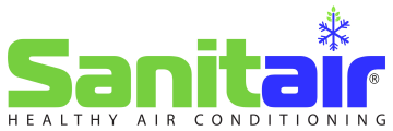Sanitair Air Conditioning Cleaning Logo